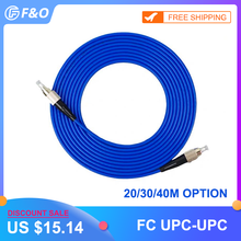 Indoor Armored  FC/UPC FC/UPC,3.0mm,Singlemode 9/125,Simplex, Optical Fiber Patch Cord Cable