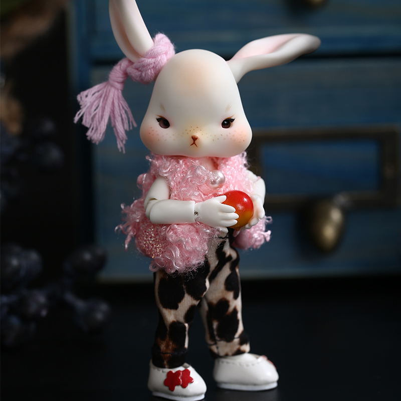 BJD Doll Tokki 1/12 Rabbit Include Fullset Option Or Nude Doll Lovely Pet Joint Doll Oueneifs   Luodoll