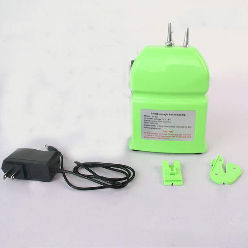 New portable electric balloon pump chargeable twisting Modeling Balloon Pump inflator pump