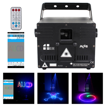 1W Phone Bluetooth APP Edit DMX Laser Scanner ILDA Animation Scan Design Patterns Projector Light DJ Party Xmas Stage Lighting original ishow3 0 ethernet stage laser light software 64 bit and usb to ilda box