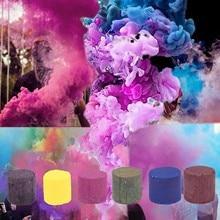 Smoke Cake Colorful Spray Smoke Effect Show Halloween Wedding Party Stage Studio Photo Props Magic Fog Smokes Gifts Fastship