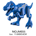 16 типеснозавров, строительные блоки, динозавры, экшн-фигурки, кирпичи, тираннозавр, классические игрушки, совместимый город, Классическая И...