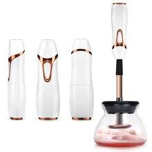 Elektrische Make Up Pinsel Reiniger Bequem Silikon Make up Pinsel Waschen Reiniger Reinigung Werkzeug Maschine