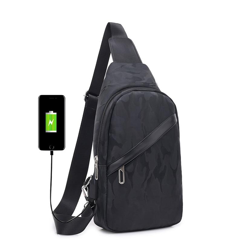 Men's Casual Shoulder Bag Men's Bag Messenger Bag Small Bag Backpack Wild Multi-function Outdoor Waist Bag Men Crossbody Bag Men