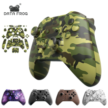 цена на Data Frog Full Housing Shell For Xbox One S Hydro Dipped Replacement Case With Buttons Kit For Xbox one slim wireless Controller