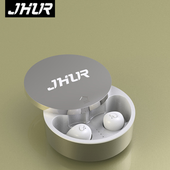 JHUR TWS Mini Earbuds Wireless bluetooth earphones Stereo Cordless Earphone For iPhone Smart Phone With Charging Box 5.0