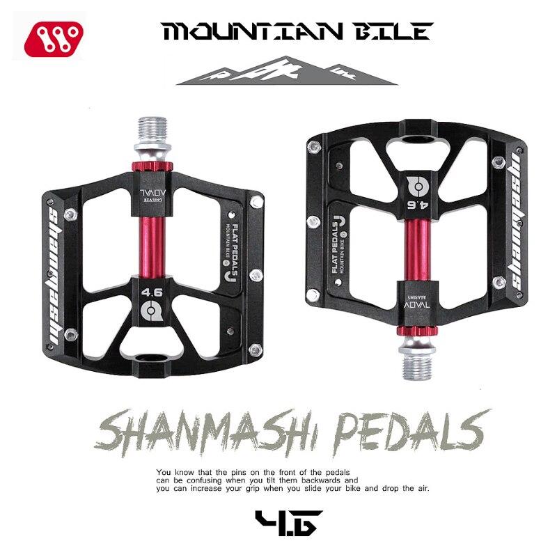 Aluminium alloy Mountain bike pedals Road MTB BMX Bicycle pedals Flat//Platform