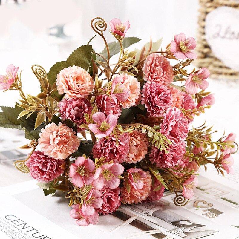 Искусственный цветок, сирень, Новый Древний берег для свадьбы, специальные маленькие шелковые цветы для дома вечерние вечеринки, комнаты, и...
