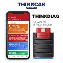 THINKCAR Thinkdiag bluetooth obd2 scanner all system obdii diagnostic tool auto scan automo