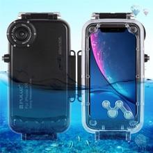 جراب مقاوم للماء لهاتف Iphone ، جراب مقاوم للماء 130 قدمًا لهاتف Iphone XR XS Max 8 Plus 7 ، غلاف للغوص لالتقاط الصور والفيديو تحت الماء ، مقاوم للصدمات للخارج