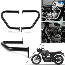 Bumper Frame Protection For Triumph Bonneville T100 T120 Engine Guard Crash Bars For Triumph Thruxton 1200/R Street Cup Twin