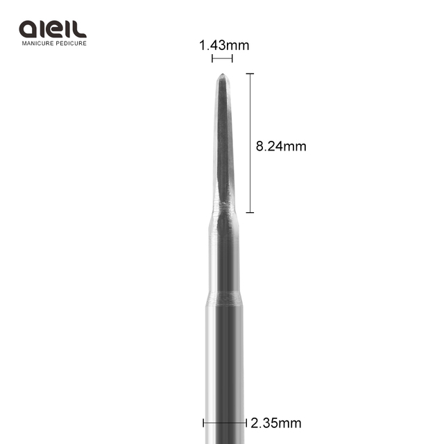 Carbide Burrs Electric Manicure Drill Accessory Nail Drill Bit For Remove Acrylics Gel Nail Files 1