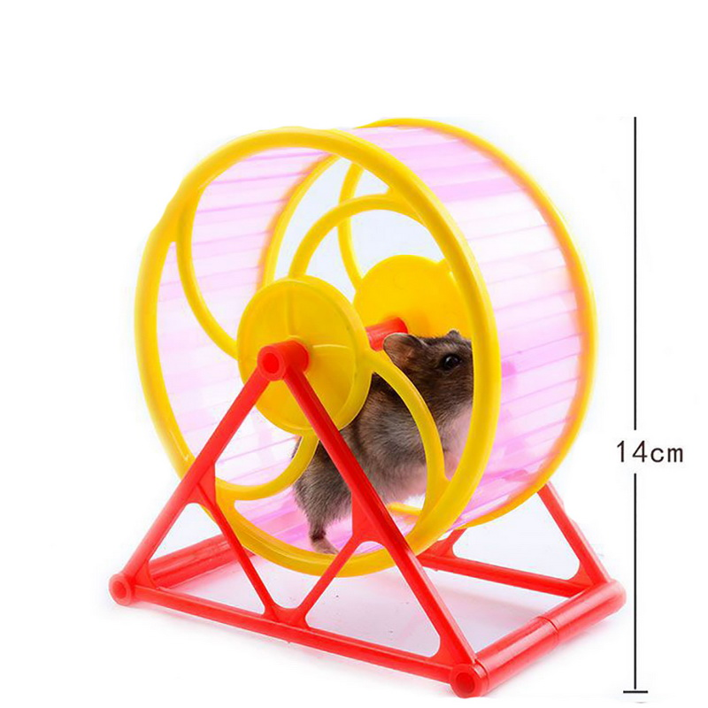 Small Animals Exercise Wheels  Hamster Sports Running Wheel Pet Toy Hamster Cage Accessories Pet Supplies Hamster Toy