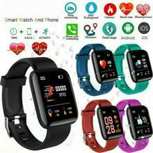 116 Plus Smart Armband Hartslag Bloeddruk Waterdicht Smart Horloge Kit