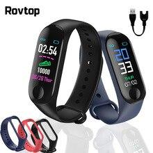 M3 زائد ساعة ذكية M3Plus ساعة يد بلوتوث جهاز مراقبة اللياقة على شكل سوار يد معدل ضربات القلب النشاط سوار الرياضة Smartwatch