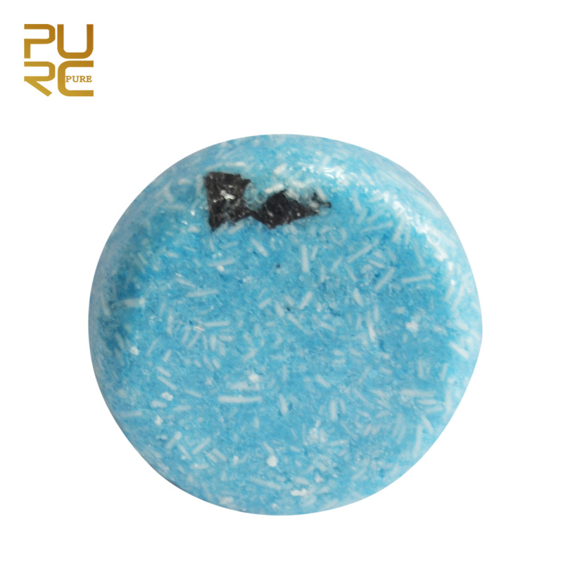 PURC Hot Sale Seaweed Shampoo Handmade Soap Handmade Cold Processed Hair Shampoo Bar Not Include Chemicals And Preservatives 60g
