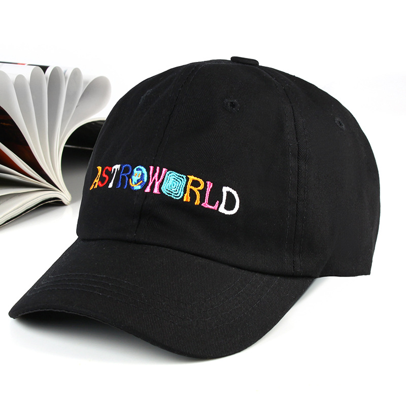NEW ASTROWORLD Embroidery Baseball Caps Travis Scott Unisex Astroworld Dad Hat Cap High Quality Embroidery Man Women Summer Hat