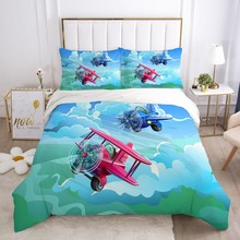 Pościel dla dzieci zestaw dla dzieci łóżeczko dziecięce chłopcy dziewczyny dziecko luksusowe Cartoon zestaw poszewek poszewka na poduszkę kołdra pokrywa statku powietrznego tanie tanio Olrynns Brak Zestawy poszew na kołdry mikrofibra 1 0 m (3 3 stóp) 1 35 m (4 5 stóp) 1 5 m (5 stóp) 1 2 m (4 stóp) 1 8 m (6 stóp)
