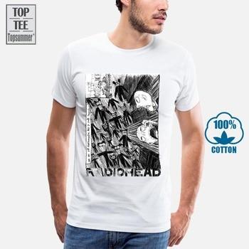 Radiohead Art T-Shirt Music Rock T-Shirt Men Women All Sizes Graphic Tee Funny Tops Tee Shirt