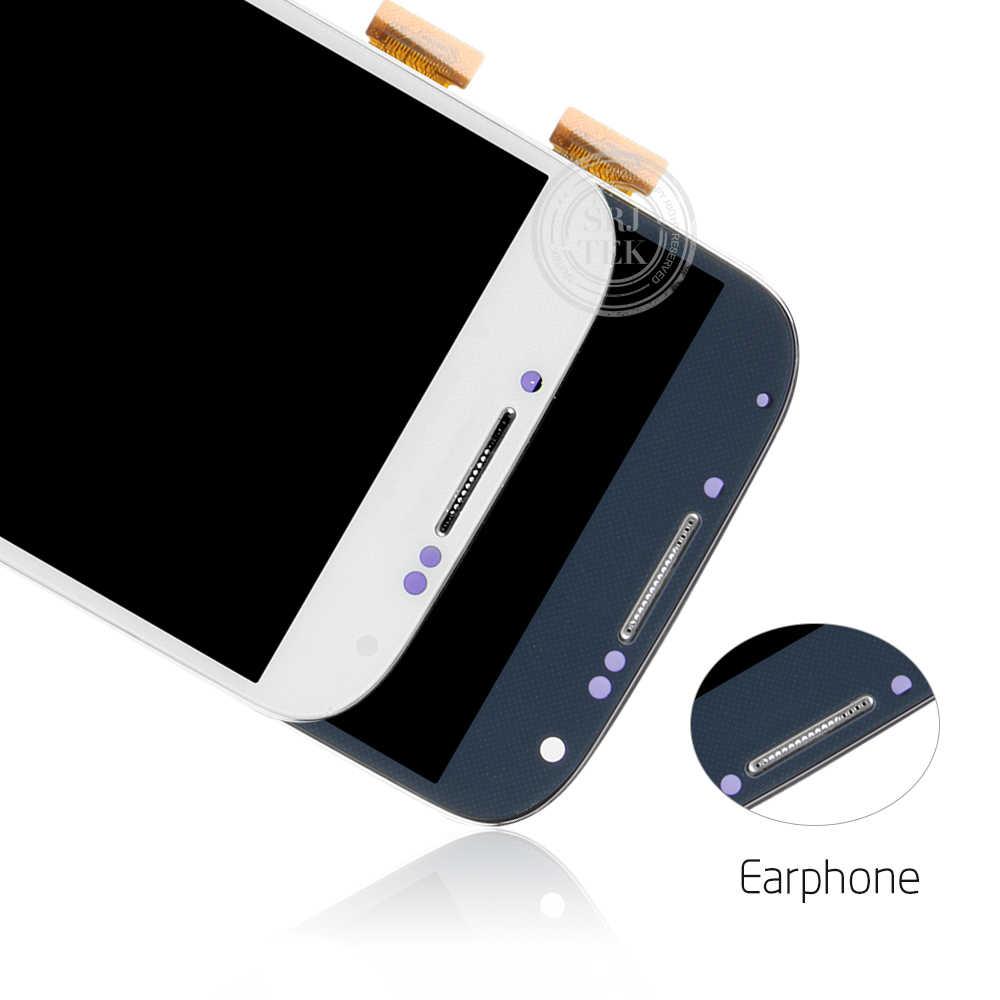 5.0 ''سوبر TFT شاشات lcd لسامسونج غالاكسي S4 شاشة الكريستال السائل مع الإطار GT-i9505 i9500 i9505 i337 i9506 i9515 محول الأرقام بشاشة تعمل بلمس