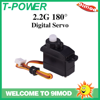 цена на T-power 2.2G Low Voltage 180° Digital Servo for RC Fixed Wing Mini Quadcopter Helicopter Drone Spare Parts
