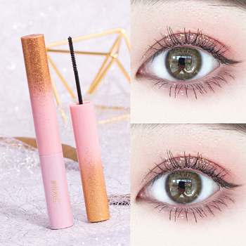 PIAC small brush head Mascara waterproof fiber curl not easy to dye extension of natural parity recommended for beginners image