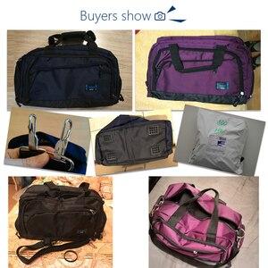 Image 5 - Gym Bags Men Sports Fitness Pack Cylinder One Shoulder Sport Bag Womens Handbags Travel Bags Nylon Waterproof Handbag Package