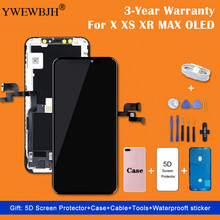 AAA+++ For iPhone X OLED With 3D LCD Touch Digitizer Assembly  LCD Screen Replacement Display For iPhoneX LCD No Dead Pixel
