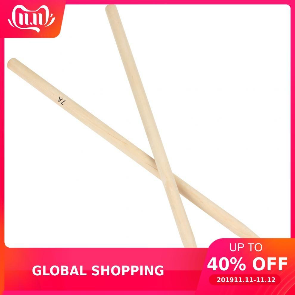 2pcs 7A Drumsticks Maple Wood Drum Sticks