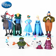 Disney Frozen 10 Kinds of Anime Dolls Aisha Anna Toy Doll Ice Queen Hand Decoration Model Doll  anime figure  toys for children frozen aisha queen children s birthday party christmas props decoration set kids toy for children gift