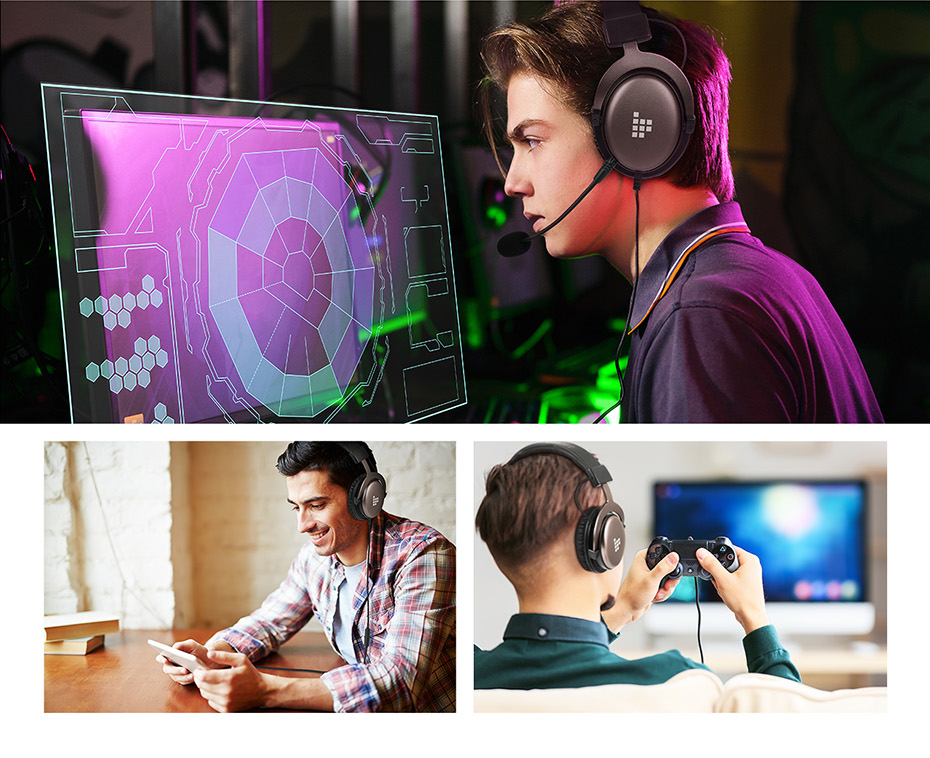 Tronsmart Sono Gaming Headphones Headset Gamer Wired Headphones for computer with Mic for PS4,Xbox One,Switch and Mobile Devices (7)