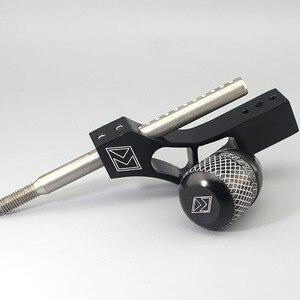 Image 4 - Pommeau de levier de levier de manette de vitesse réglable en aluminium pour Honda Civic Integra CRX B16 B18 B20 D Series