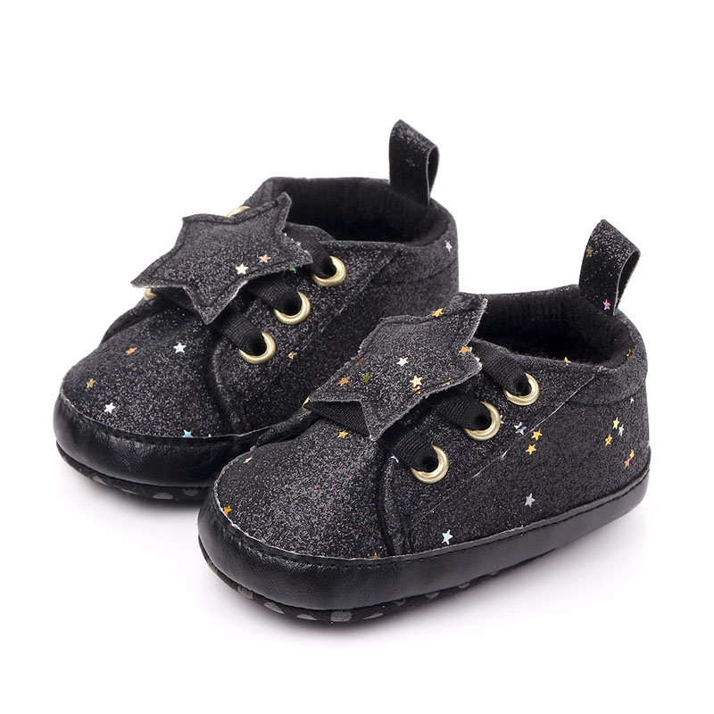 0-18 M Infant Baby Boys Girls Toddler Shoes Infant Fashion Shoes Newborn Soft Bottom Shoes First Walk Sneakers Sequins Shoes