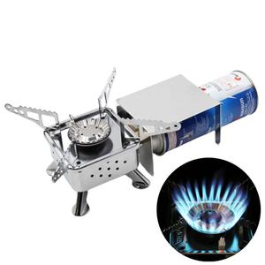 Mini Portable Outdoor Camping Picnic Folding Windproof Cooking Gas Burners Stove Folding Windproof Cooking Gas Burners Stove