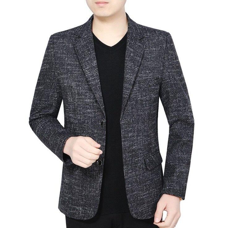 Spring Autumn New Brand Men Clothing Jacket Men's British's Style Suit Jacket Men Blazer Fashion Slim Male Casual Blazers