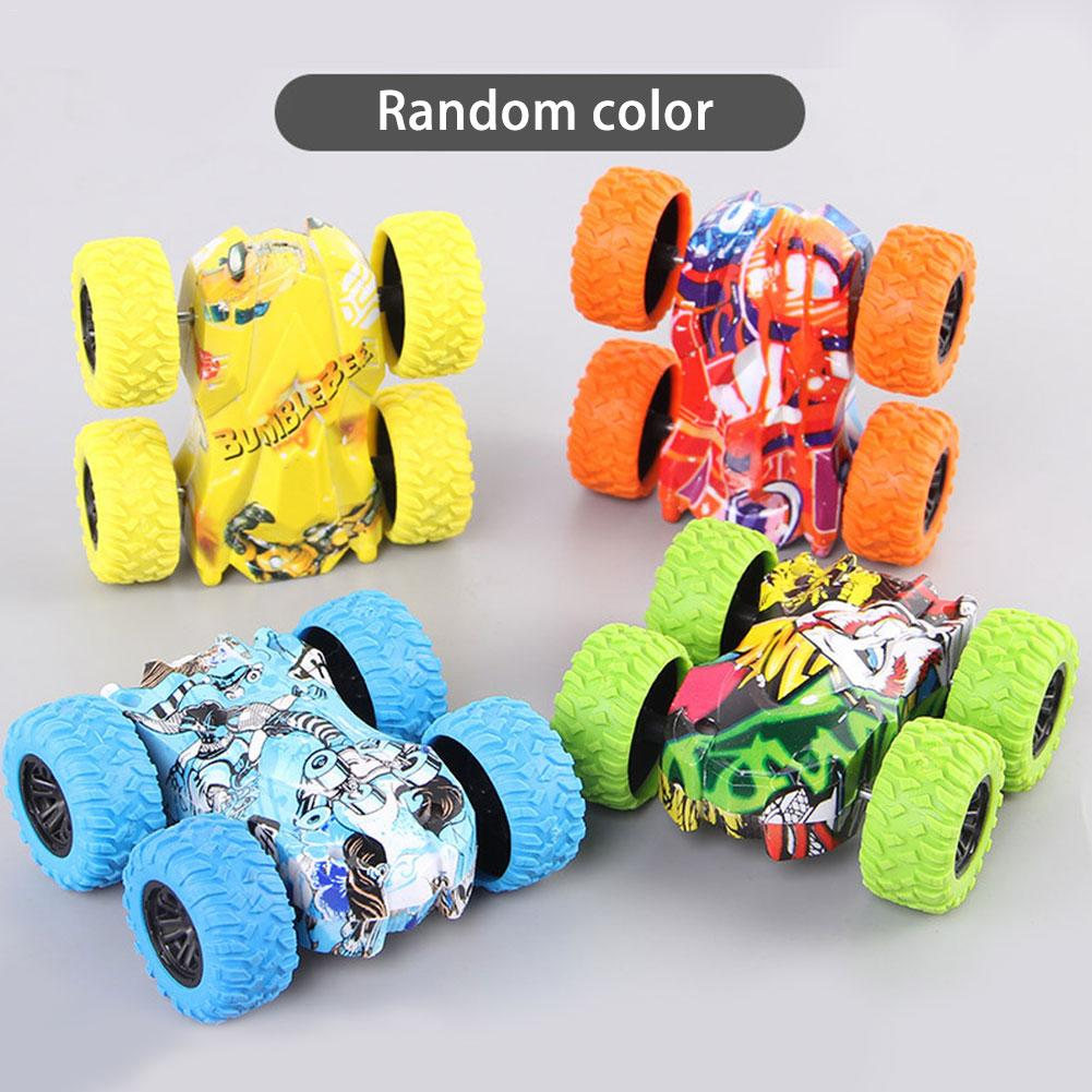 2019 Cool Double-sided Off-road Dump Truck Inertial Car 360 Resistance To Fall Off Children Creative Fashion Birthday Gifts Toy