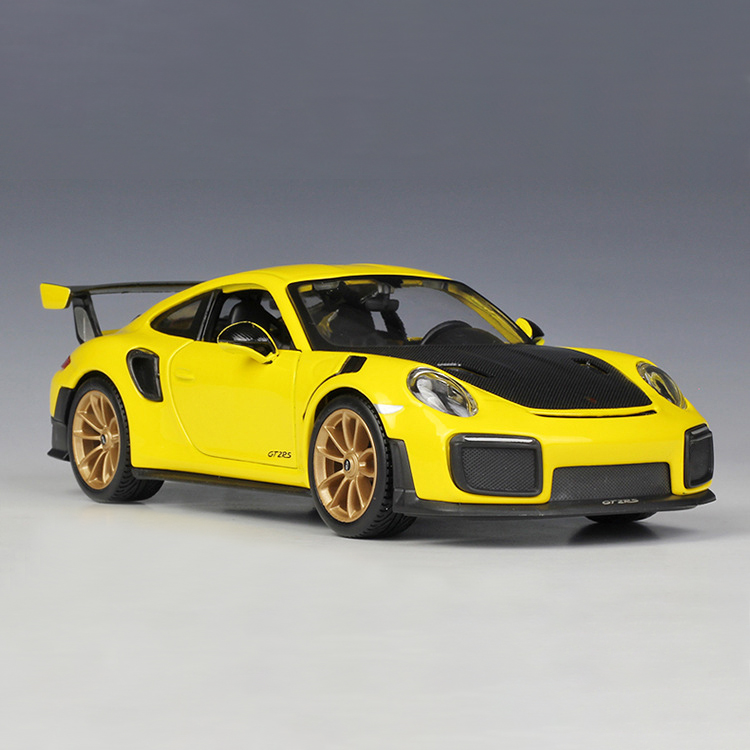 GT2 RS Yellow Diecast Model Car 2