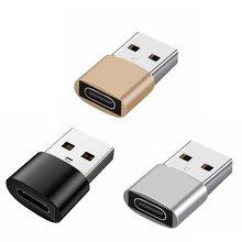 2шт USB C адаптер OTG тип C к USB адаптер тип-C OTG адаптер кабель для iPhone 12 Pro Max для airpods 1 2 3 телефон USB адаптеры