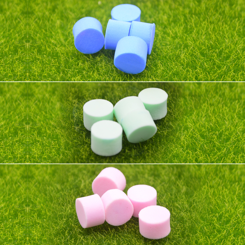 10pcs Tube Water Block Sponge For Young Ants Queens Insects