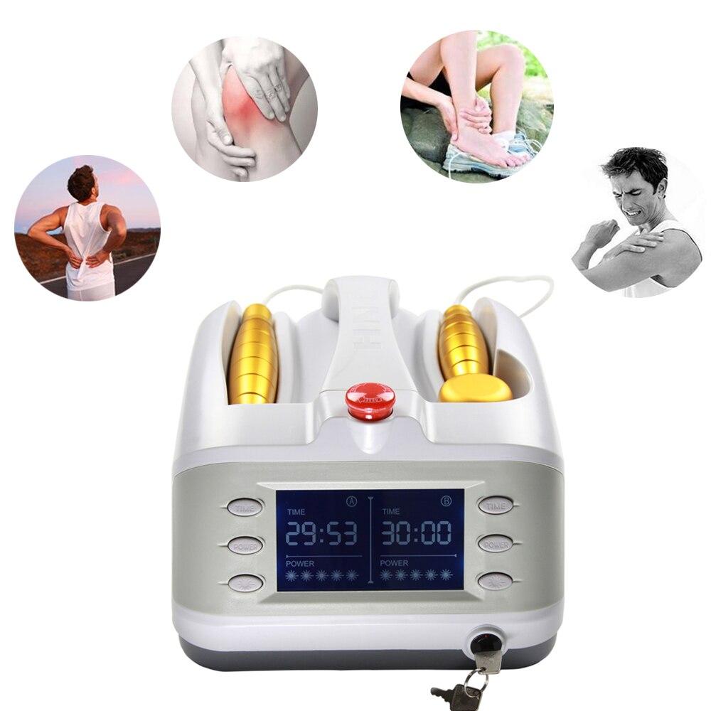 Profissional Poderosa 808nm Alívio Da Dor 650nm Macio Bio Máquina de Massagem Acupuntura A Laser equipamentos de fisioterapia