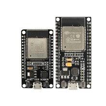 ESP-32S esp32 ESP-WROOM-32 bluetooth e wifi cpu de núcleo duplo com consumo de baixa potência mcu ESP-32