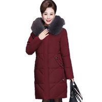 6XL 7XL Winter Jacket Women Parkas Loose Warm Down Cotton Coat Female Thick Long Sleeve Oversize Winter Women Coat Padded Q1972