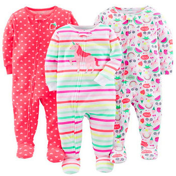 Boy, girl, baby, cotton, cloth, bag, jumpsuit, romper, child, warm pajamas Cotton onesies, boys and girls onesies