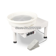220 В гончарная формовочная машина 150 Вт 30 см электрический гончарный круг DIY инструмент для работы с глиной с лотком для керамической работы керамики s