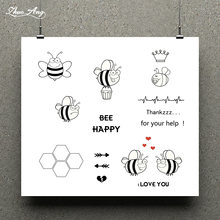 Zhuoang различные пчелы штамп/Скрапбукинг резиновый штамп/ручная