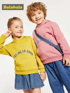 Image 1 - Balabala Children clothing girls autumn hoodies new style boy autumn clothes sweatershirt baby hooded 2019 hoodies clothing