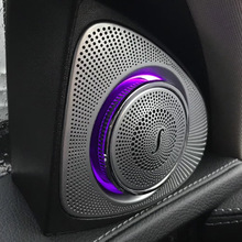 Tweeter-Speaker Led-Ambient-Light W205 Mercedes-Benz Car-Interior 3D for C-Class C180/C200/C250/..