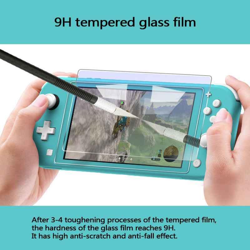 新ミニゲーム機防爆ガラススクリーン高精細プロテクター