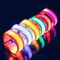 4 Pieces LED Lighting Horse Leg Safety Belt Horse Leg Straps Night Riding Equipment Outdoor Sports Equestrian Supplies