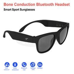 Colorful Wireless Bone Conduction Driving Sun Glasses Eyeglasses Headset Earphones Sports Wireless Headphones for Outdoor